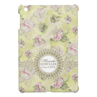 Vintage Pink Hydrangea French Wallpaper Floral Art Cover For The iPad Mini