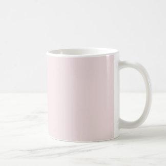 Vintage Pink Template Blank Basic White Mug