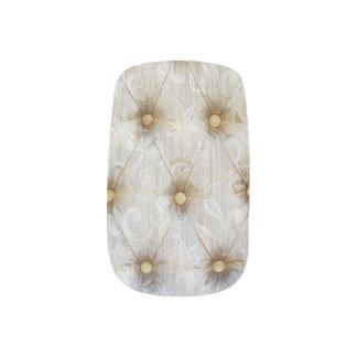 Vintage Pintuck Fabric Minx ® Nail Wraps