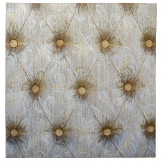 Vintage Pintuck Fabric Monogram Initial Napkins Cloth Napkin