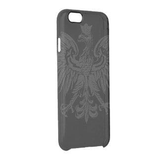 Vintage Poland Flag Clear iPhone 6/6S Case