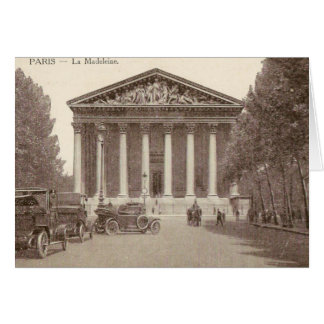 Vintage Postcard of La Madeleine Paris