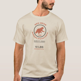 Vintage Potato Sack (Red Bear Brand) T-Shirt