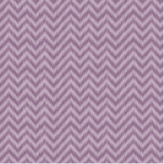 Vintage Purple Lilac Ikat Chevron Zigzag Standing Photo Sculpture