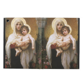 Vintage Realism, Madonna of the Roses, Bouguereau Case For iPad Air