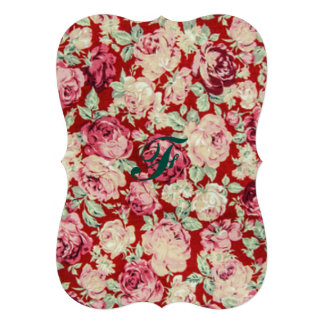 vintage red roses,victorian,floral,romantic,girly, card
