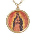 Vintage Religion, Lady of Guadalupe, Virgin Mary Custom Necklace