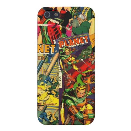 Vintage Retro Comic book  Cover For iPhone 5