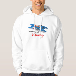 Vintage Retro Kitsch 50s Scampy Auto and Boat Hoodie