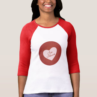 Vintage Retro Style Just Married On Antique Red T Shirts