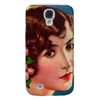 Vintage Retro Women 20s Hollywood Bessie Love Galaxy S4 Case