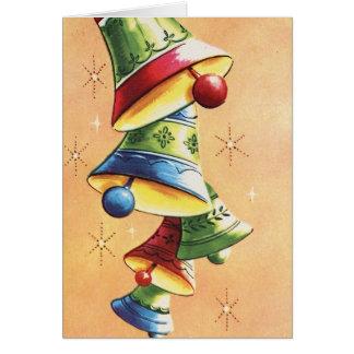 vintage ringing bells Christmas_Card Card