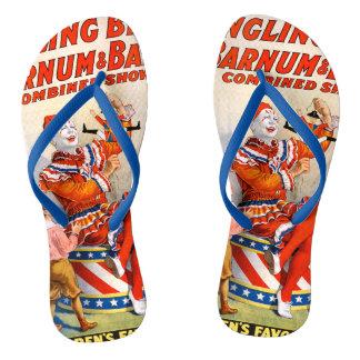 Vintage Ringling Bros - Barnum & Bailey Clown Show Thongs