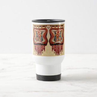 Vintage Romanian Needlework Travel Mug