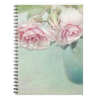 Vintage Roses note book