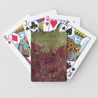 Vintage Roses Oil Grunge Card Decks