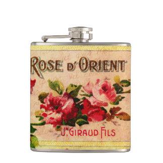 Vintage Roses Perfume Flask