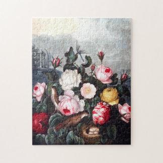 Vintage Roses Puzzle