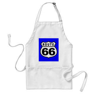 VINTAGE ROUTE 66 AMERICANA FATHER'S DAY ADULT APRON
