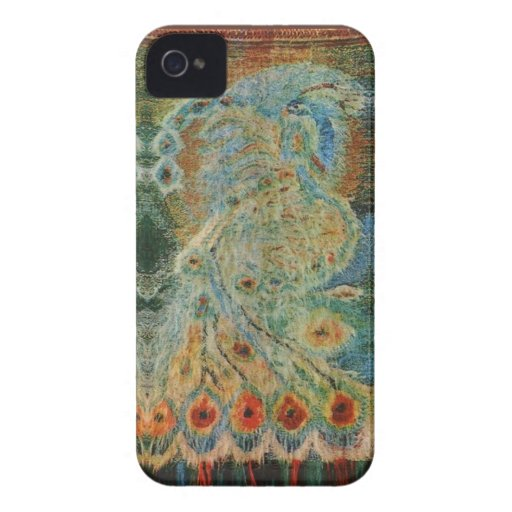 Vintage Rumanian Fabric design iPhone 4 Cover