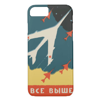 Vintage russian matchbox ads (CCCP Jet Fighters) iPhone 7 Case