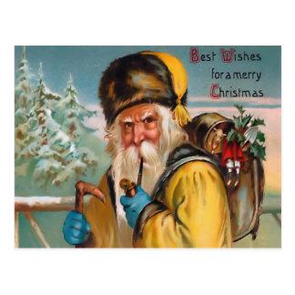 Vintage Saint Nick Postcard