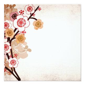 Vintage sakura Invitation