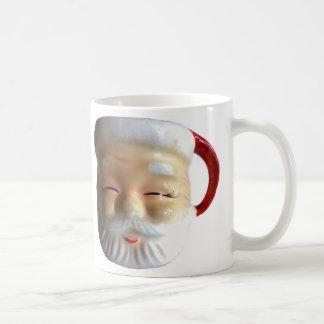Vintage Santa Mug Mug Blinking