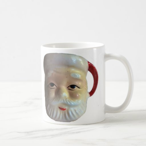 Vintage Santa Mug Mug (Eyes Wide Open)