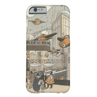 Vintage Science Fiction Steampunk, Urban Paris Barely There iPhone 6 Case