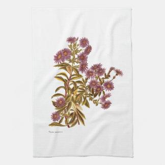 Vintage Science NZ Flowers - Olearia semidentata Tea Towel