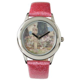 Vintage Scottish Country Garden Wrist Watches