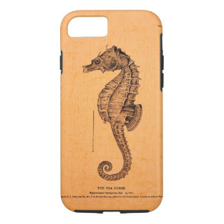 Vintage Seahorse Illustration on ® iPhone 7 case
