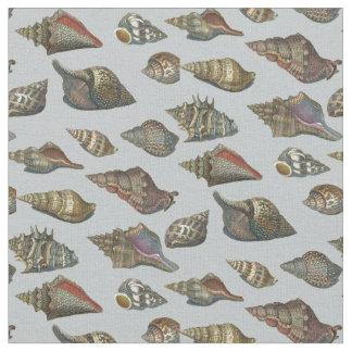 Vintage Seashells Fabric