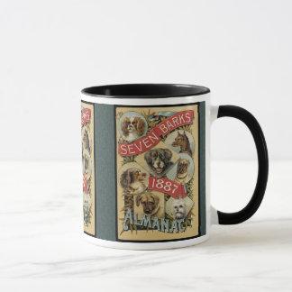 Vintage Seven Barks Mug