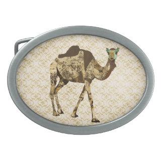 Vintage Shabby Camel Belt Buckle
