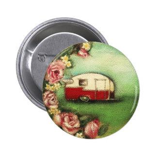 Vintage Shasta 6 Cm Round Badge