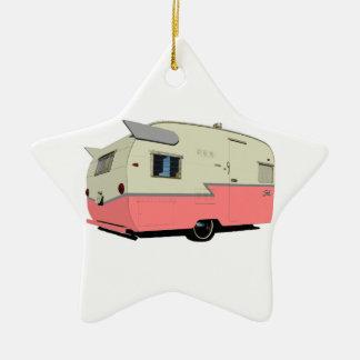 Vintage Shasta Trailer Holiday Ornament