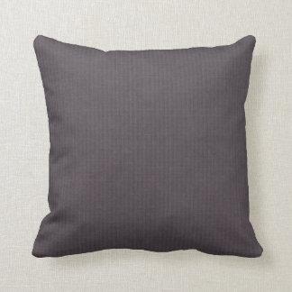 Vintage simple purple aubergine linen look deco pillows