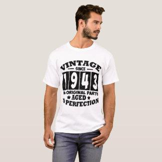 VINTAGE SINCE 1943 ALL ORIGINAL PARTS T-Shirt