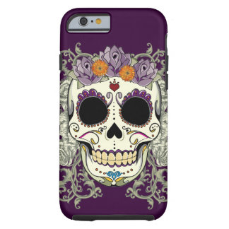 Vintage Skull and Flowers iPhone 6 case