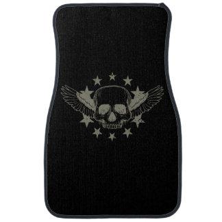 Vintage Skull Wings Stars Auto Floor Mats Floor Mat