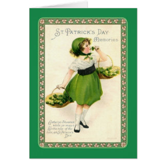 Vintage St Patrick's Day Greeting Card