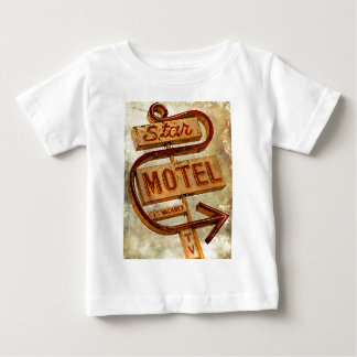 Vintage Star Motel Sign Baby T-Shirt