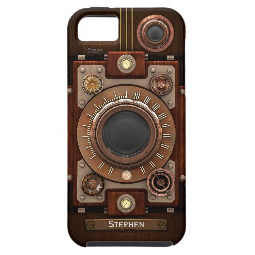Vintage Steampunk Camera #1C iPhone 5/5S Cover