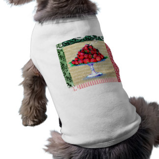 Vintage Strawberries Collage Shirt