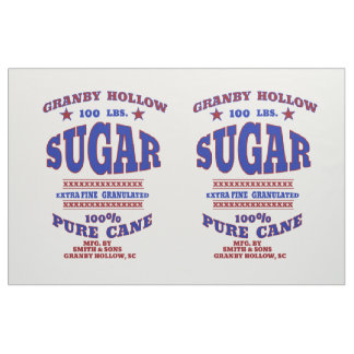 Vintage Sugar Sack Panel Fabric