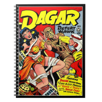 Vintage Super Heroines Comic Book Cover Journals
