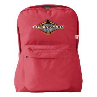 Vintage Surf American Apparel™ Backpack, Red Backpack