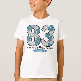 Vintage Surf Kids' Basic Hanes Tagless T-Shirt